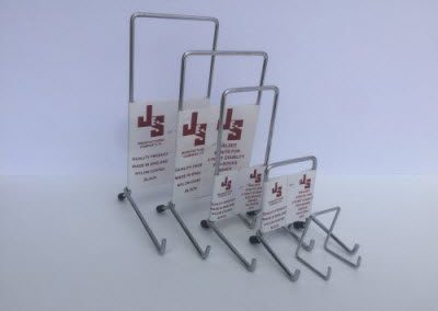 Plate Stands Silver