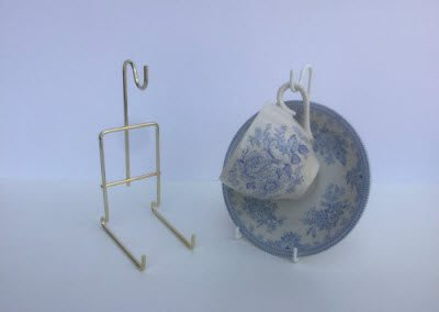 Hanging Cup & Saucer Stands